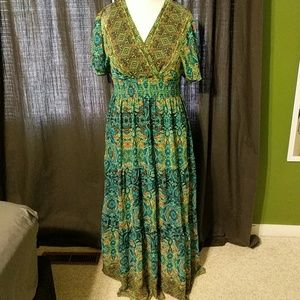 Dress Barn maxi dress size 16
